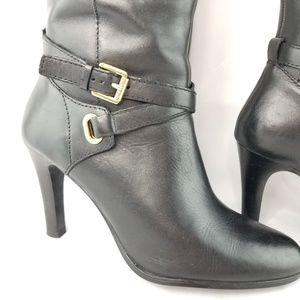 Lauren Ralph Lauren Shoes - Lauren Ralph Lauren Boots Becca Stiletto Heels 8B